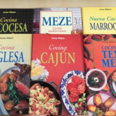 Libros: KIT 6 LIBROS COCINA ANNE WILSON. Lote 131044592