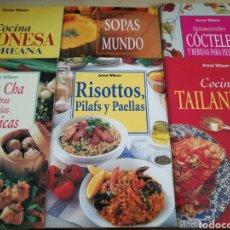 Libros: KIT 6 LIBROS COCINA ANNE WILSON. Lote 131044909