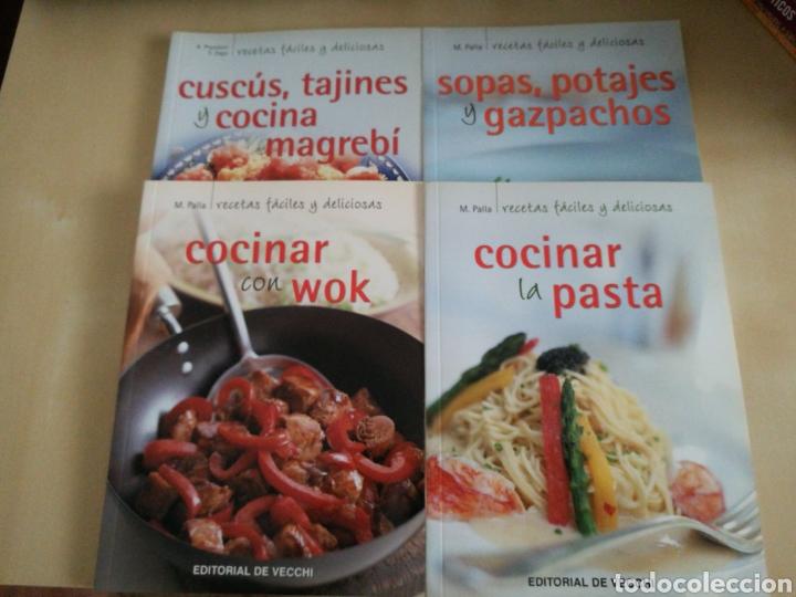 KIT 4 LIBROS COCINA ED. VECCHI (Libros Nuevos - Ocio - Cocina y Gastronomía)