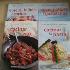 Libros: KIT 4 LIBROS COCINA ED. VECCHI. Lote 131045247