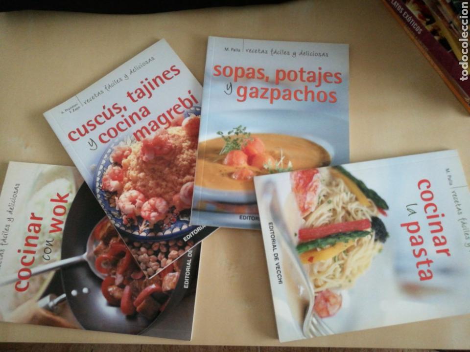 Libros: Kit 4 libros cocina Ed. Vecchi - Foto 2 - 131045247
