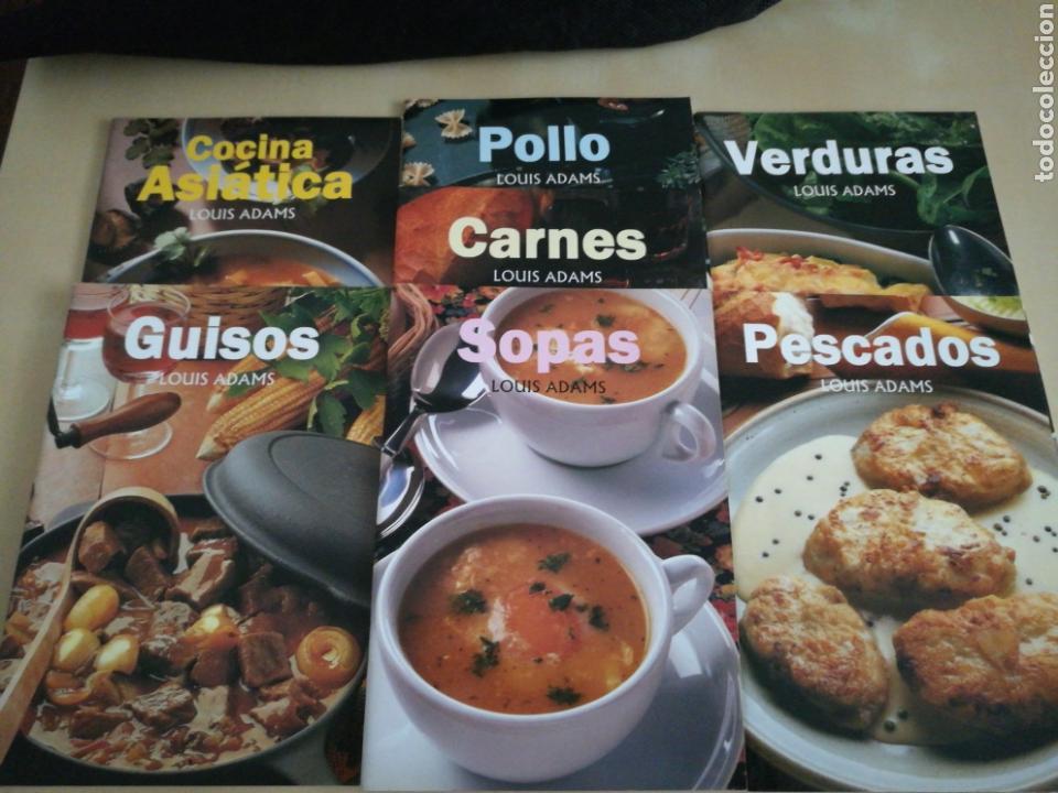 KIT 7 LIBROS COCINA LOUIS ADAMS (Libros Nuevos - Ocio - Cocina y Gastronomía)
