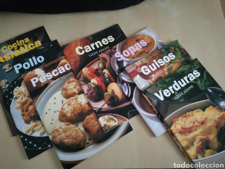 Libros: Kit 7 libros cocina Louis Adams - Foto 2 - 131045504
