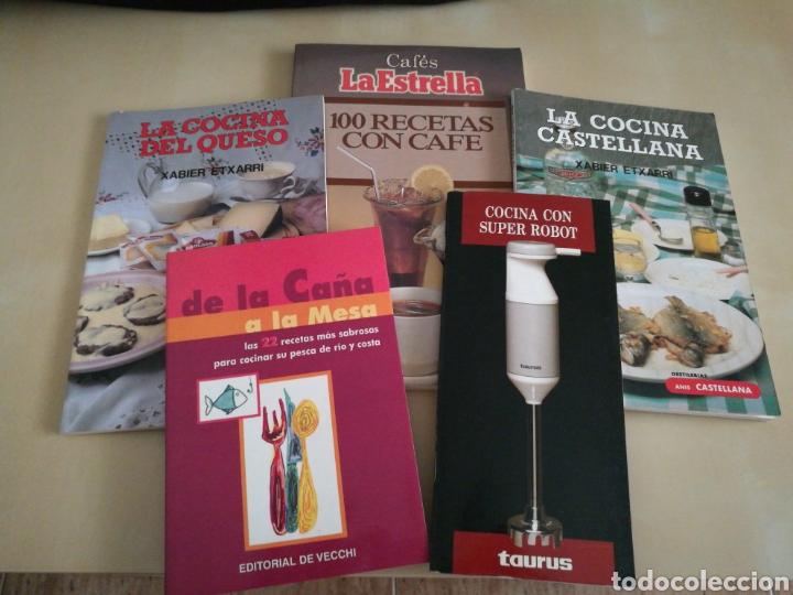 KIT 5 LIBROS COCINA (Libros Nuevos - Ocio - Cocina y Gastronomía)