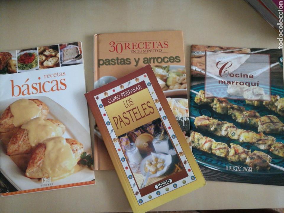 KIT 4 LIBROS COCINA (Libros Nuevos - Ocio - Cocina y Gastronomía)
