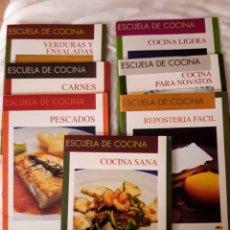 Libros: LOTE LIBROS DE RECETAS DE COCINA.. Lote 145577262