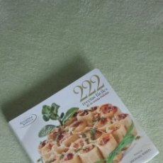 Libros: 222 RECETAS FÁCILES COCINA ITALIANA. Lote 132350374