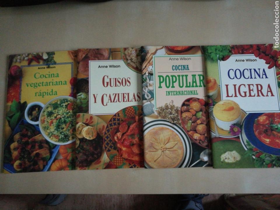 KIT 4 LIBROS COCINA ANNE WILSON (Libros Nuevos - Ocio - Cocina y Gastronomía)
