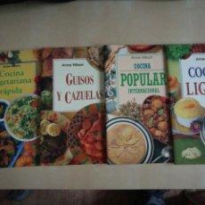 Libros: KIT 4 LIBROS COCINA ANNE WILSON. Lote 131003316