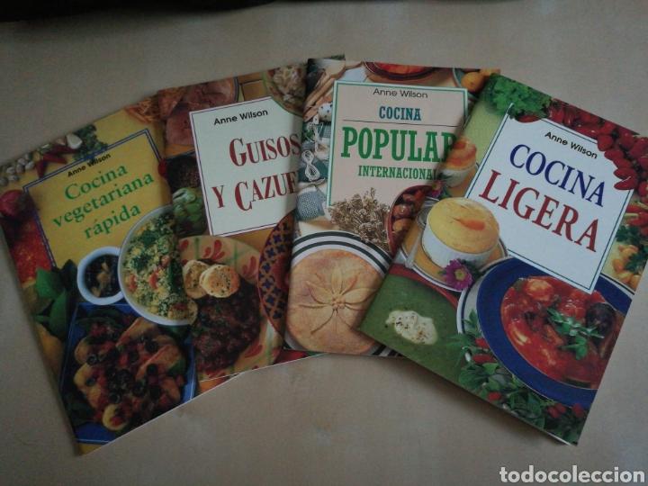Libros: Kit 4 libros cocina Anne Wilson - Foto 2 - 131003316