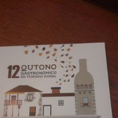 Libros: LIBRO CATALOGO 12 OUTONO TURISMO RURAL GALICIA 2018. Lote 134212027