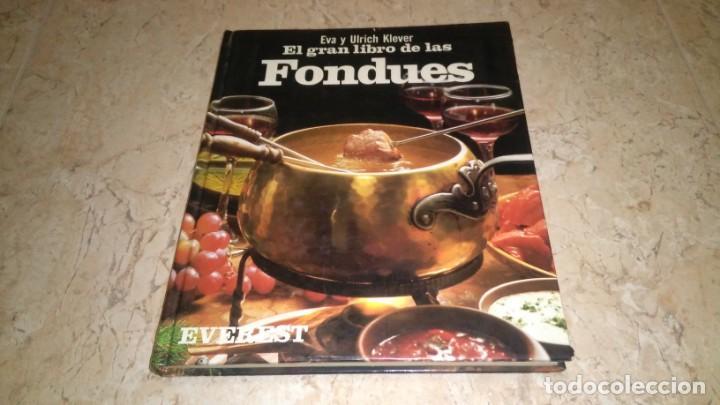 EL GRAN LIBRO DE LAS FONDUES, EVEREST (Libros Nuevos - Ocio - Cocina y Gastronomía)