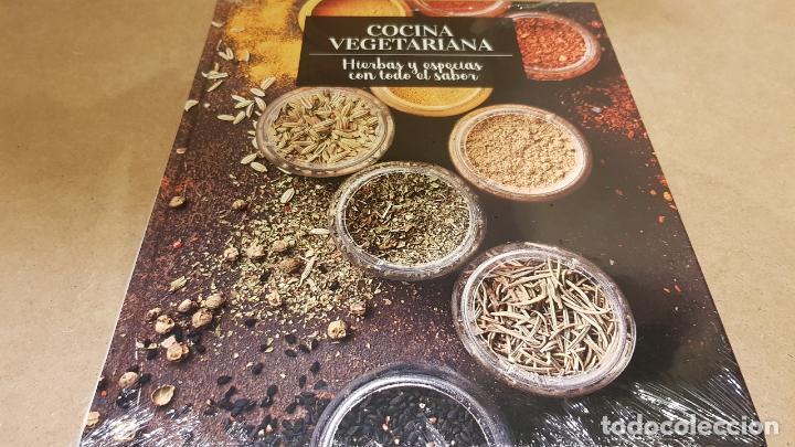 COCINA VEGETARIANA / 15 / HIERBAS Y ESPECIAS CON TODO EL SABOR / LIBRO PRECINTADO. (Libros Nuevos - Ocio - Cocina y Gastronomía)
