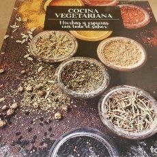 Libros: COCINA VEGETARIANA / 15 / HIERBAS Y ESPECIAS CON TODO EL SABOR / LIBRO PRECINTADO.. Lote 140529298
