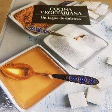 Libros: COCINA VEGETARIANA / 14 / UN TOQUE DE DULZURA / LIBRO PRECINTADO.. Lote 140529566