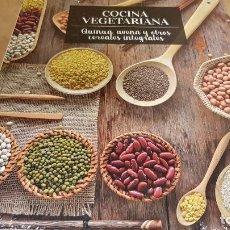 Libros: COCINA VEGETARIANA / 8 / QUINUA, AVENA Y OTROS CEREALES INTEGRALES/ LIBRO PRECINTADO.. Lote 140529910