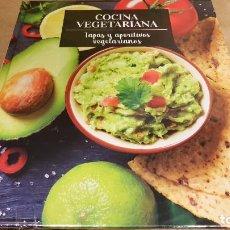 Libros: COCINA VEGETARIANA / 3 / TAPAS Y APERITIVOS VEGETARIANOS / LIBRO DESPRECINTADO NUEVO.. Lote 140530198