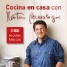 Libros: COCINA EN CASA CON MARTÍN BERASATEGUI: 1100 RECETAS BÁSICAS. Lote 140837898