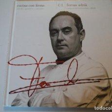 Libros: COCINA CON FIRMA FERRAN ADRIA. Lote 142037770