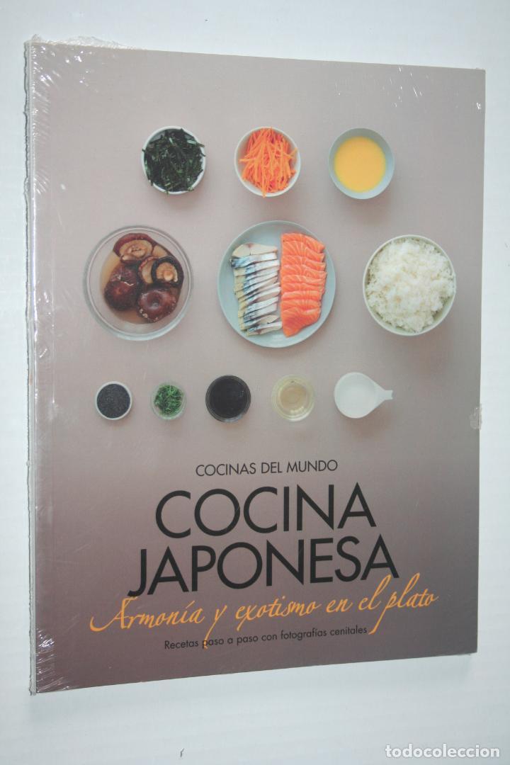 COCINA JAPONESA *** LIBRO COLECCION COCINAS DEL MUNDO *** PRECINTADO (Libros Nuevos - Ocio - Cocina y Gastronomía)