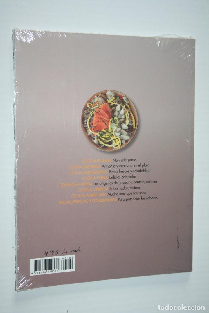 Libros: COCINA JAPONESA *** LIBRO COLECCION COCINAS DEL MUNDO *** PRECINTADO - Foto 2 - 142687150
