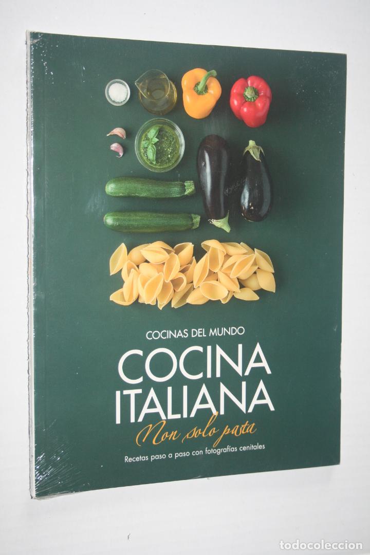 COCINA ITALIANA *** LIBRO COLECCION COCINAS DEL MUNDO *** PRECINTADO (Libros Nuevos - Ocio - Cocina y Gastronomía)