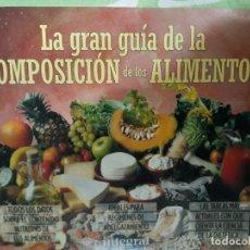 Libros: LA COMPOSICIÓN DE LOS ALIMENTOS. Lote 146898250