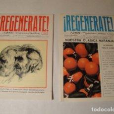 Libros: CUADERNOS REGENÉRATE. NICOLÁS CAPO. AÑOS 1974-1975-1976-1977-1978 Y 1980. NUEVAS.. Lote 145904958
