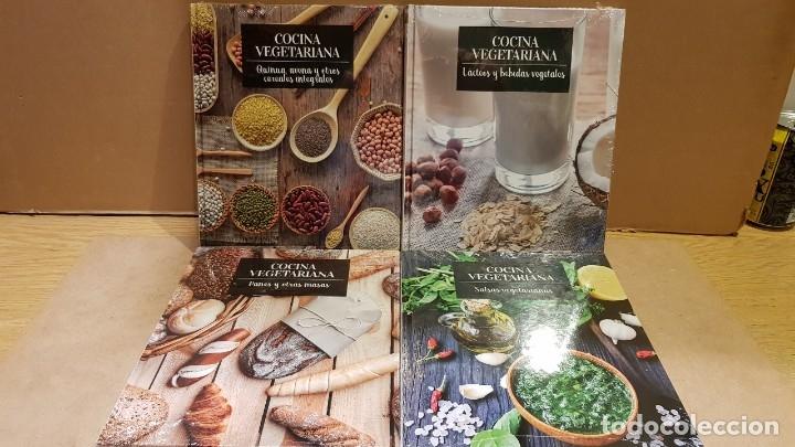Libros: COCINA VEGETARIANA / COLECCIÓN COMPLETA Y PRECINTADA / 15 TOMOS / LEER Y VER FOTOS. - Foto 3 - 147676082