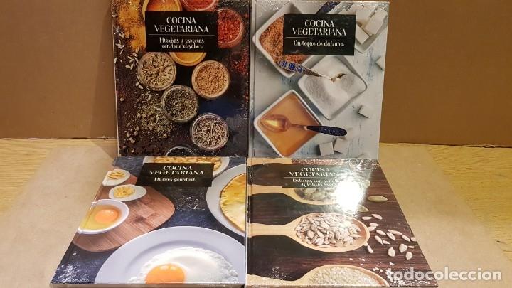Libros: COCINA VEGETARIANA / COLECCIÓN COMPLETA Y PRECINTADA / 15 TOMOS / LEER Y VER FOTOS. - Foto 2 - 147676082