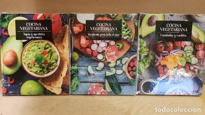 Libros: COCINA VEGETARIANA / COLECCIÓN COMPLETA Y PRECINTADA / 15 TOMOS / LEER Y VER FOTOS. - Foto 5 - 147676082