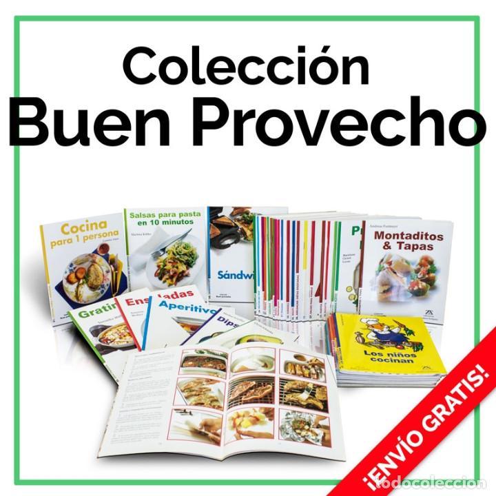 COCINA. COLECCIÓN BUEN PROVECHO. 39 LIBROS - VARIOS AUTORES DESCATALOGADO!!! OFERTA!!! (Libros Nuevos - Ocio - Cocina y Gastronomía)