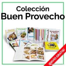 Libros: COCINA. COLECCIÓN BUEN PROVECHO. 39 LIBROS - VARIOS AUTORES DESCATALOGADO!!! OFERTA!!!. Lote 150495746