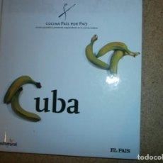 Libros: COCINA PAIS POR PAIS CUBA NUEVO. Lote 151606274