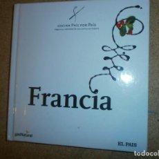 Libros: COCINA PAIS POR PAIS FRANCIA NUEVO. Lote 151606662