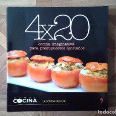 Libros: CANAL COCINA - 4 X 20 COCINA IMAGINATIVA. Lote 152127290