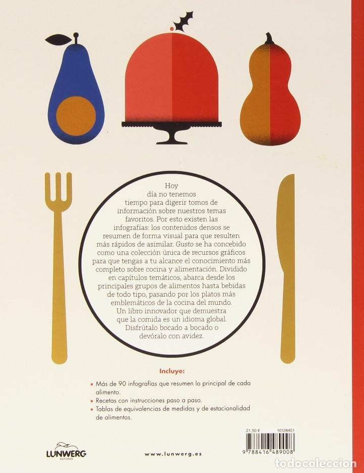 Libros: Gusto: el gran libro de los alimentos (2015) - Laura Rowe - ISBN: 9788416489008 - Foto 2 - 152705793