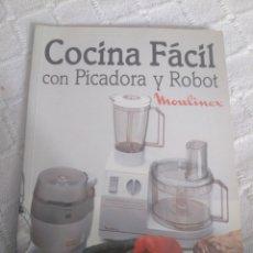 Libros: COCINA FÁCIL CON PICADORA Y ROBOT. Lote 155789626