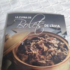 Libros: LA CUINA DE BOLETS DE L'ÀVIA. Lote 155809608