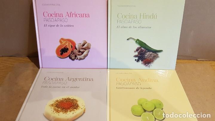 Libros: COLECCIÓN COCINA INTERNACIONAL PASO A PASO / 22 LIBROS / COMPLETA / NUEVA A ESTRENAR. - Foto 2 - 217562726