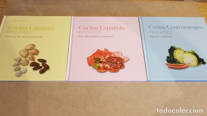 Libros: COLECCIÓN COCINA INTERNACIONAL PASO A PASO / 22 LIBROS / COMPLETA / NUEVA A ESTRENAR. - Foto 10 - 217562726