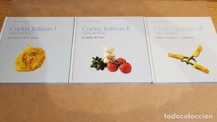 Libros: COLECCIÓN COCINA INTERNACIONAL PASO A PASO / 22 LIBROS / COMPLETA / NUEVA A ESTRENAR. - Foto 9 - 217562726