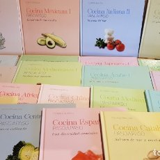 Libros: COLECCIÓN COCINA INTERNACIONAL PASO A PASO / 22 LIBROS / COMPLETA / NUEVA A ESTRENAR.. Lote 217562726