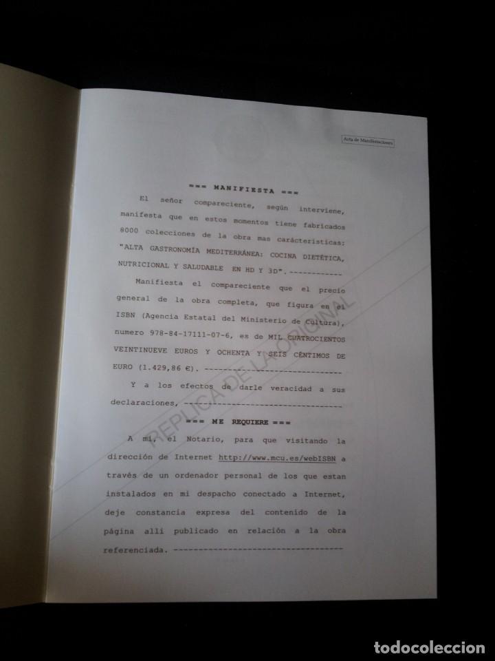 Libros: MARTIN BERASATEGUI Y JUAN MARI ARZAK - ALTA GASTRONOMIA MEDITERRANEA - EDICION LIMITADA - Foto 9 - 159168450