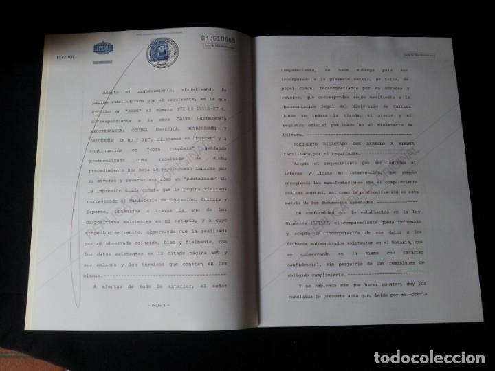 Libros: MARTIN BERASATEGUI Y JUAN MARI ARZAK - ALTA GASTRONOMIA MEDITERRANEA - EDICION LIMITADA - Foto 10 - 159168450