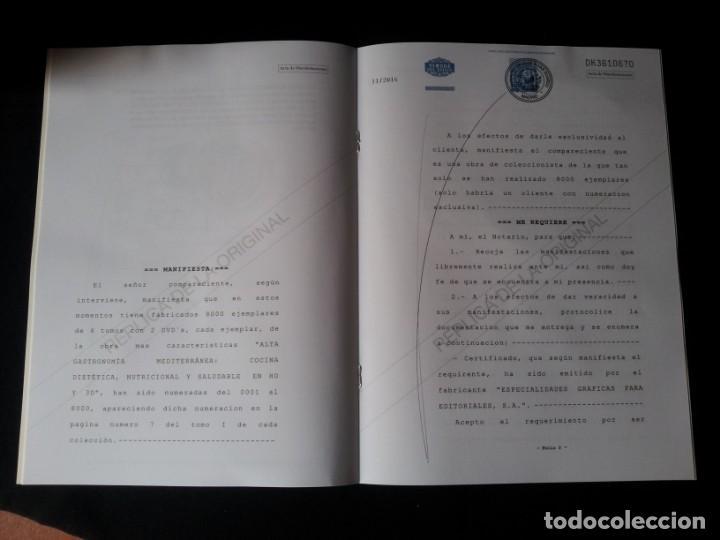 Libros: MARTIN BERASATEGUI Y JUAN MARI ARZAK - ALTA GASTRONOMIA MEDITERRANEA - EDICION LIMITADA - Foto 13 - 159168450