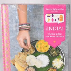 Libros: ¡INDIA! COCINA INDIA: NOCIONES BÁSICAS. SALMANDJEE, SANDRA. ALIAS SANJEE. Lote 159678878