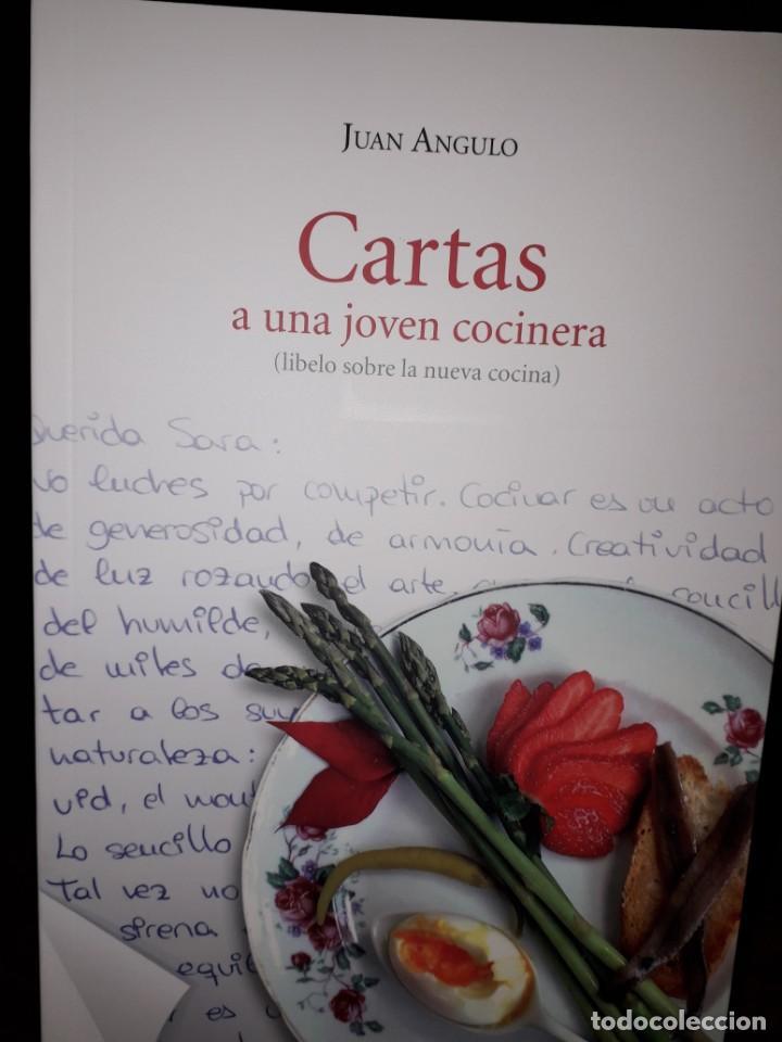 LIBRO Nº 2002 CARTAS A UNA JOVEN COCINERA JUAN ANGULO (Libros Nuevos - Ocio - Cocina y Gastronomía)