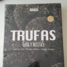 Libros: NUEVO SIN ESTRENAR. TRUFAS. GUIA Y RECETAS. JOSE DE UÑA, EMILIO UBIETO, SERGIO AZAGRA. EVEREST. CCTT. Lote 160955430
