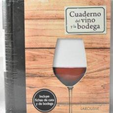 Libros: CUADERNO DE VINO Y LA BODEGA. Lote 166255950